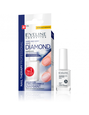 Nail Therapy-Diamond Endurecedor -Eveline Cosmetics-12m